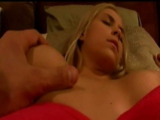 wet bleached acquires hosed inside her sleep