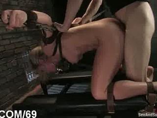 intense bdsm porn and bottom fistin