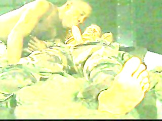 two army gays suck dick inside interracial tryst