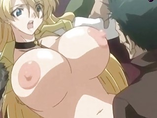 hentai lady doing cock sucking and obtains