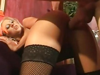 krystal steal massages her juicy vagina up and