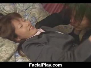 bukkake now  filthy facial sperm japanese style 14