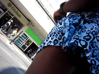 artie upskirt on windy moment without knickers
