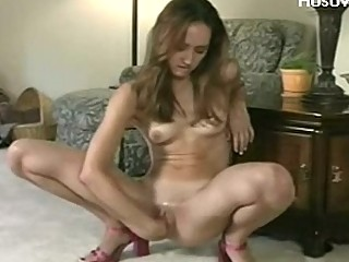 self fingering young chick