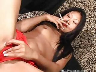 lucy lee  - smoking like at dragginladies
