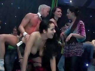 sluts night horny group sex drill