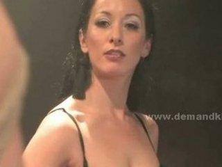 sweet sweet looking brunette milf spanks her