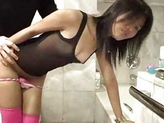 thailand fucktoy zoe 18 worships penis into her