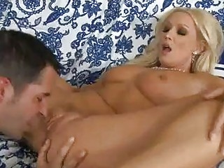 rough anal blond lady drives uneasy  bazooka on