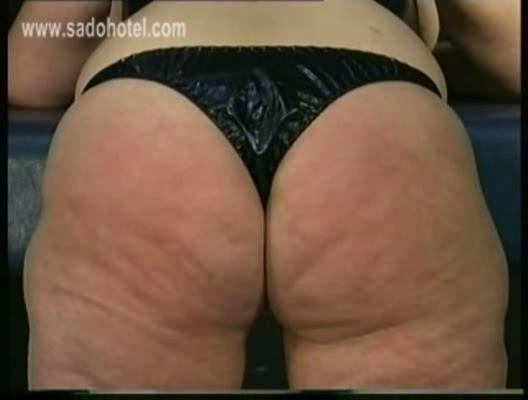 granny awesome plump and slutty slave had hit