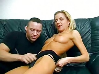 beautiful german girl pierced and cummed on