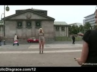 electrically shocked lady into the streets of
