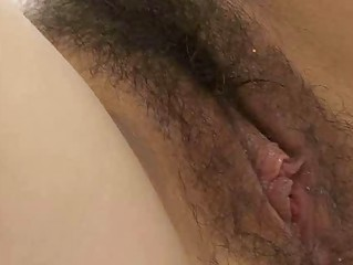 Hairy pussy gets banged