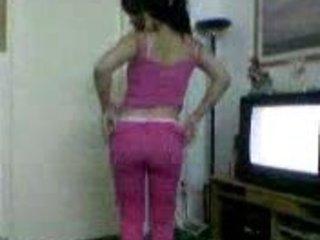 arabic babe exposing to how lovely butt inside