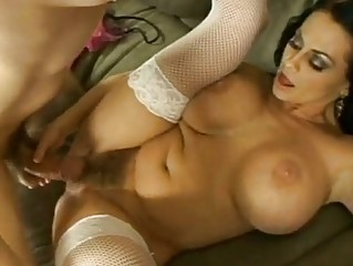 huge boobed harley raines acquires rammed uneasy