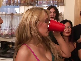 naughty young porn group fuck with two blond
