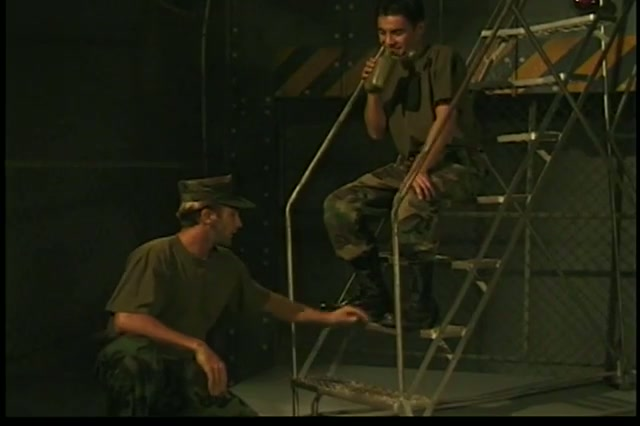 awesome military gay boys gangbanging uneasy