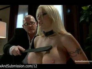 big breast albino spank and fellatio by dude