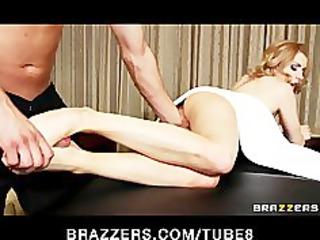slutty albino teen lexi belle gives her masseur a
