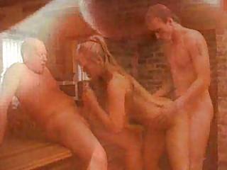 european woman acquires twin penetraction