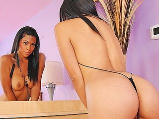 natural-tit large arse latin acquires bottom