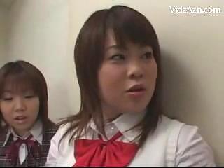 5 schoolgirls into uniform pissing for teenager