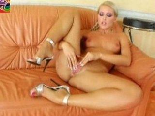 sophie delightful masturbating with her juicy