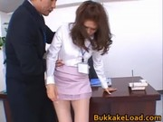 Aya matsuki horny asian doll enjoys sex