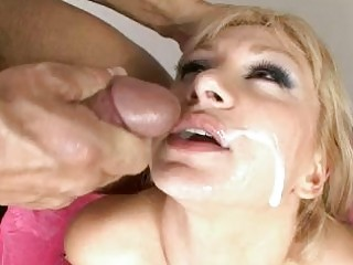 facial cum for filthy older  whore