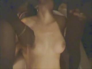 cuckold woman gangbanged  inside front of fucker