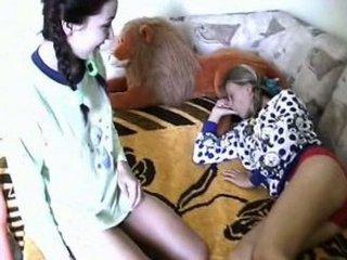 sleeping lesbos