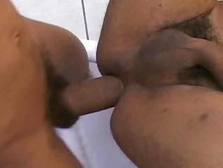 sweet ethnic man unmerciful gay barebacking