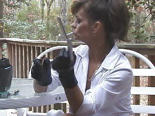 hotlegs-smoking stockings masturbation