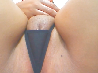 close-up of pretty latino pussy