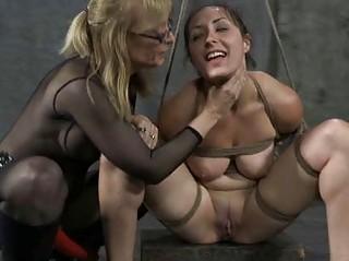 elderly bdsm masters milf strapon bondage slave