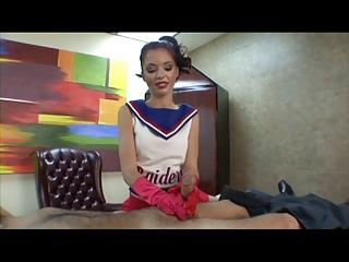 jessi palmer cheerleader handjob