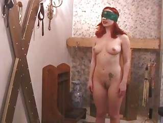 slave gagged and cave whipped