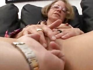fingering cougar