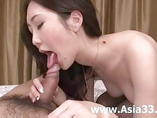 asian dick sucking and so lovely tits