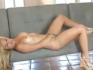 charming pale young kayden kross rubbing her