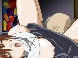 hentai sister doing dick sucking and takes pierced
