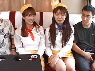 japanese av lady forced to lick