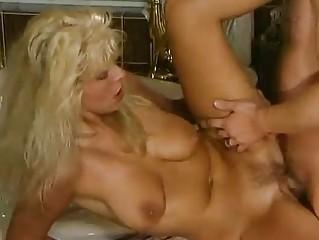 cougar german albino pierced into the shower
