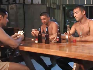 army expose poker threesome.