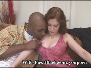 mommys muff drilled by black