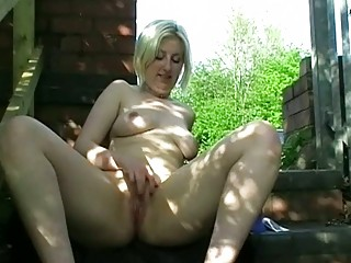fresh lady inside outside nudity and al fresco