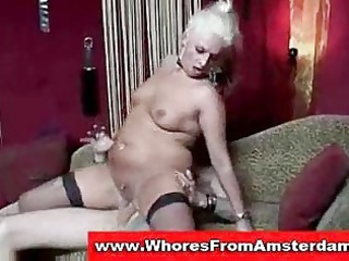 lady prostitute drilled and jizzed