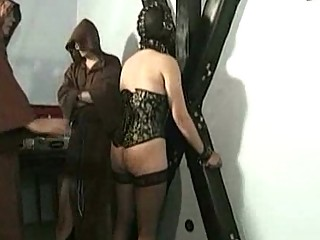 master professor spanks sexy desperate slave with