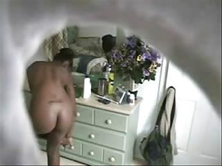best shape dark amateur after bathroom spy cam