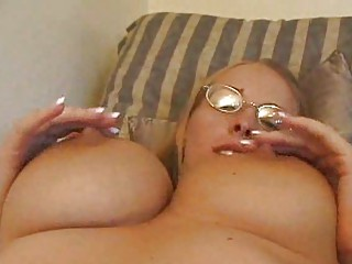 brittney inside glasses pleases with her giant